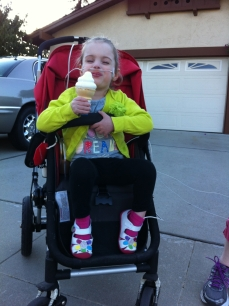 Ice Cream on a Walk